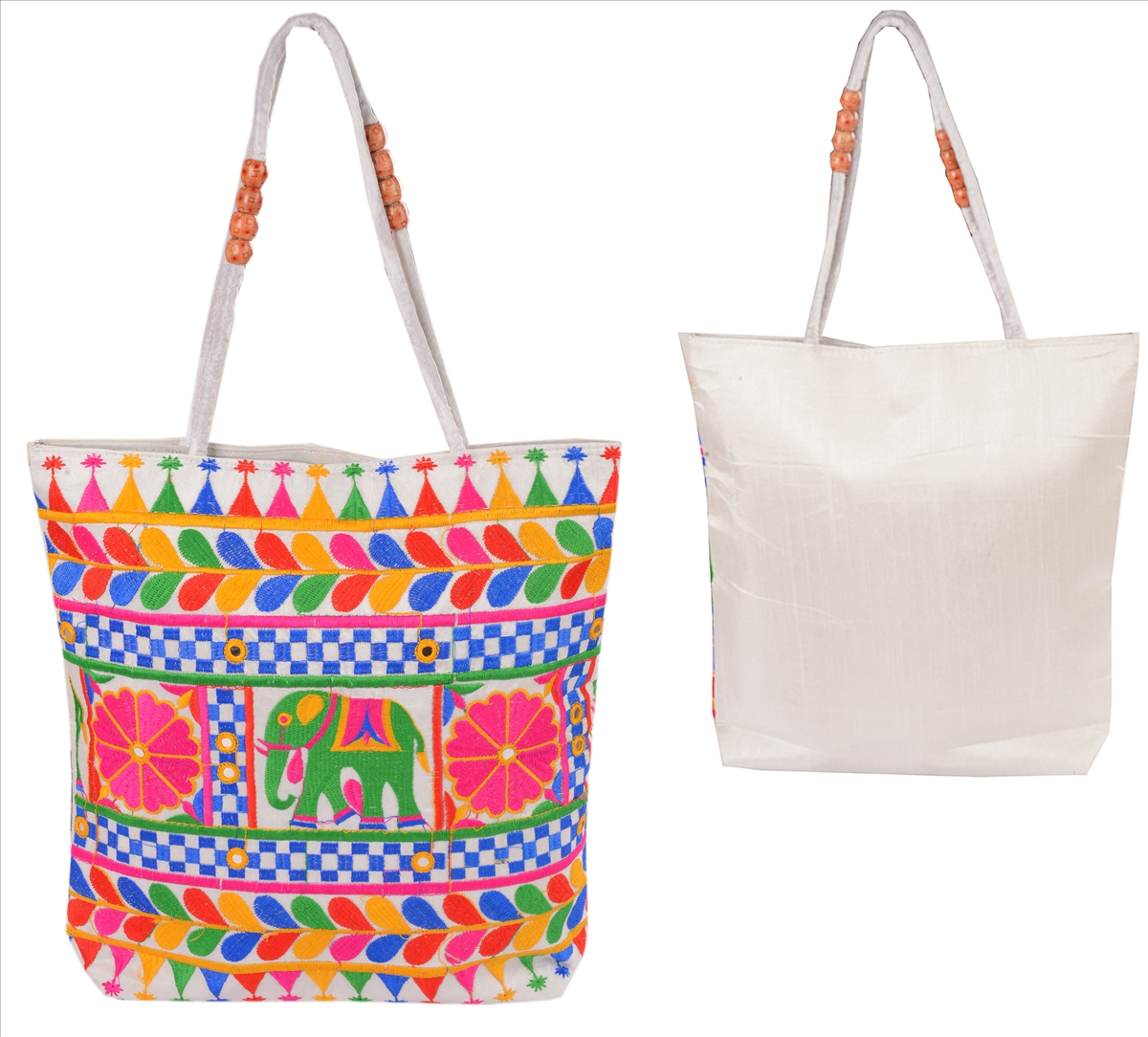 Perfect kutch embroidery bags online makaroka